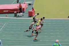 evento de pista 6to Hong Kong Games Fotografía de archivo libre de regalías