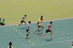 evento de pista 6to Hong Kong Games Imagen de archivo
