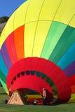 Evento del globo del aire caliente Imagen de archivo libre de regalías