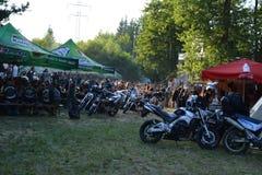 Evento del motor en Novi Han, Bulgaria imagen de archivo libre de regalías