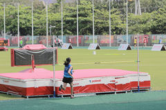 evento del salto de ŸHight del ¼ del ï 6to Hong Kong Games imagenes de archivo