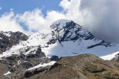 Evento del tiempo Nubes convectivas en montaña Fotografía de archivo