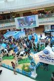 Evento 2015 dell'azienda agricola di zootecnia di Hong Kong Dutch Lady Pure Immagini Stock