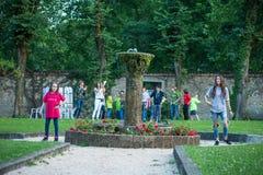 Evento di carità di Barth Italia Fotografia Stock