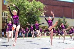 Evento di ginnastica in Novi triste Fotografia Stock