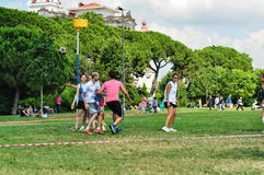 Evento di Korfball di estate a Costantinopoli Immagine Stock