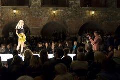 Evento di modo a Graz Fotografia Stock