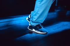Evento di presentazione delle scarpe da tennis di Adidas NMD a Mosca Fotografie Stock Libere da Diritti