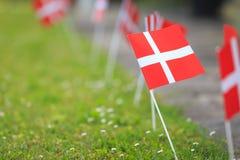 Evento dinamarquês da bandeira Imagens de Stock