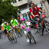 Evento do ciclismo de RideLondon - Londres 2015 Fotografia de Stock