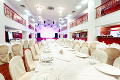 Evento do restaurante Banquete, casamento, celebração Imagem de Stock