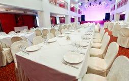 Evento do restaurante Banquete, casamento, celebração Imagens de Stock