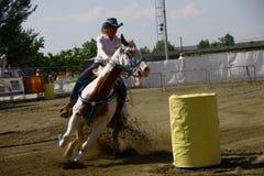 Evento equestre - paese del du di Fotografia Stock Libera da Diritti