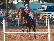 Evento equestre - ponticello Fron Fotografia Stock