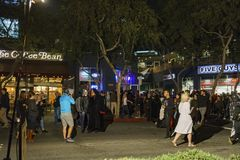 Evento especial - Hollywood del oeste Halloween Carnaval Foto de archivo