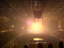 Evento, esposizione della luce Fotografie Stock