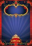 Evento fantástico del circo azul libre illustration