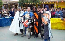 Evento medieval imagem de stock royalty free