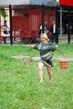Evento nacional - corriendo con los cubos Imagen de archivo