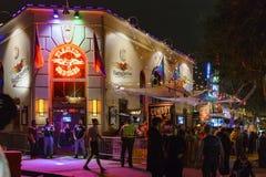 Evento speciale - Hollywood ad ovest Halloween Carnaval immagine stock libera da diritti