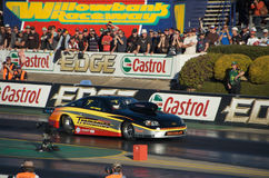 Evento superiore di Dragster del combustibile Immagini Stock