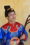 Evento tradizionale di prestazione di musica del Vietnam Immagini Stock