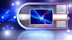evento virtual del sistema de largo almacen de metraje de vídeo