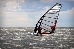 Evento Windsurfing no mar Báltico Imagem de Stock Royalty Free