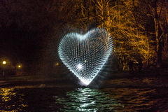 Evento Winterlichter nel Palmgarden Immagine Stock Libera da Diritti