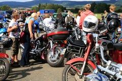 Eventos da motocicleta fotografia de stock