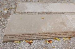Eventos de la universidad de Miami del monumento del verano 1964 de la libertad, antes universidad occidental para las mujeres Fotos de archivo libres de regalías