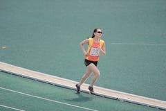 Eventos de pista durante 6to Hong Kong Games Foto de archivo