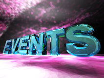 Events Royalty Free Stock Photo