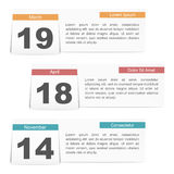 Events Calendar Stock Photos