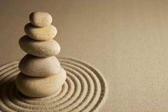 In evenwicht brengende stenen Stock Fotografie