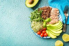 Evenwichtig gezond voedsel stock afbeeldingen