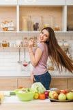 Evenwichtig voedzaam het verliesvoedsel van het dieet gezond gewicht stock foto