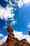 Evenwichtige rots Stock Fotografie
