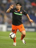 Ever Banega of Valencia CF Stock Image