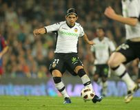 Ever Banega of Valencia CF Royalty Free Stock Photos