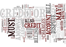 Ever Have A Problem With Your Credit Card Company Text Background Word Cloud Concept Stock Photos