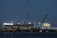 EverBank领域体育场,杰克逊维尔,佛罗里达 免版税库存图片