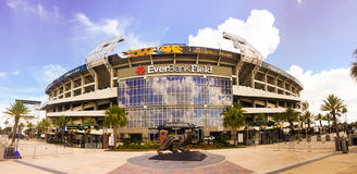 EverBank Field. Home of the Jacksonville Jaguars stock photos