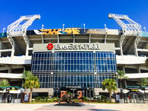 EverBank Field. Home of the Jacksonville Jaguars royalty free stock photo