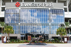 EverBank Field. Home of the Jacksonville Jaguars stock images
