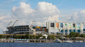 EverBank Field. Located in Jacksonville, Florida. Home of the Jacksonville Jaguars stock photos
