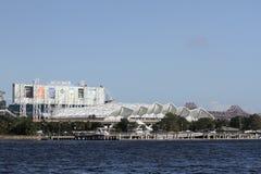 EverBank Field Stadium, Jacksonville, Florida. The EverBank Field stadium located in Jacksonville, Florida Stock Photo