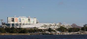 EverBank Field Stadium, Jacksonville, Florida. The EverBank Field stadium located in Jacksonville, Florida Stock Photos