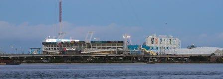 EverBank Field Stadium, Jacksonville, Florida. The EverBank Field stadium located in Jacksonville, Florida royalty free stock image