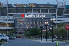 EverBank Field Stadium at Night Stock Photography